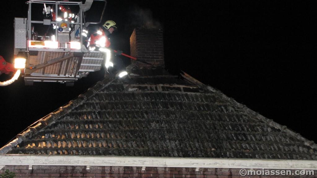 Woning door snelle inzet brandweer behouden