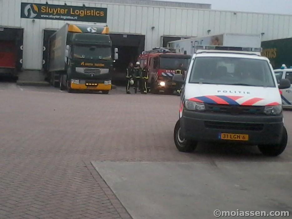 MMT inzet voor bedrijfsongeval in Assen (video)