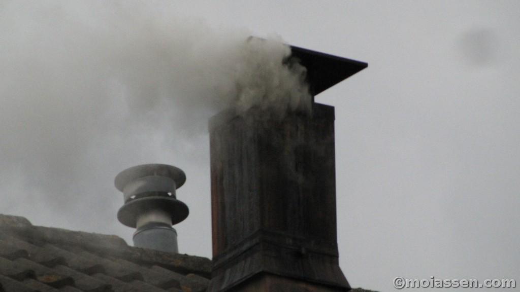 112Kort:schoorsteenbrand aan de Buitenes in de Asser wijk Peelo