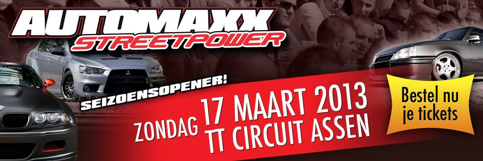 AutoMaxx Street Power op TT Circuit Assen