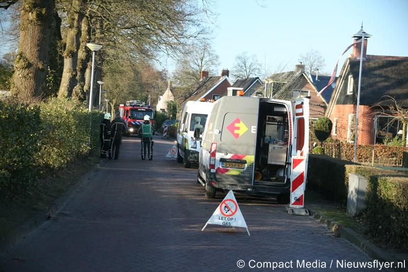 112 Kort: Brandweer Vries assisteert bij gaslekkage