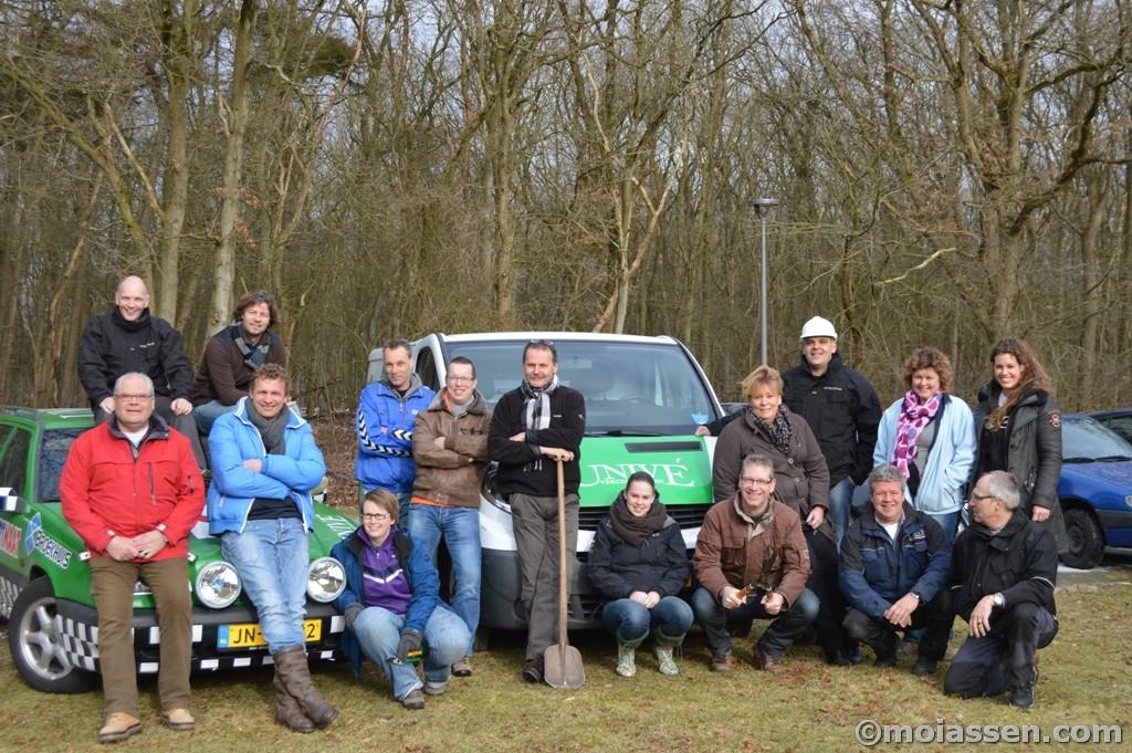 Geslaagde deelname aan NL Doet 2013 door medewerkers van Univé
