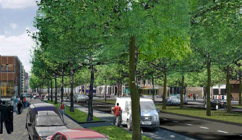 Snelle aanpak Stadsboulevard in Assen