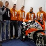 Teampresentatie van het Van Rijswoud Racingteam uit Assen