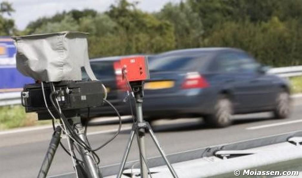 221 snelheidsovertreders bekeurd