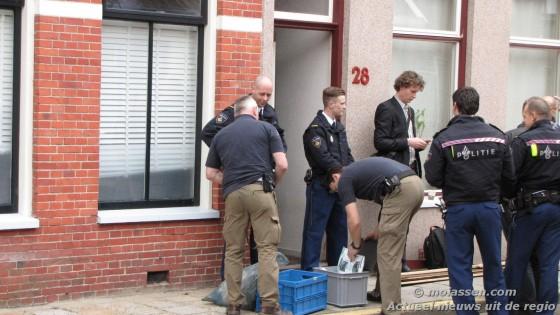 arrestatie team politie