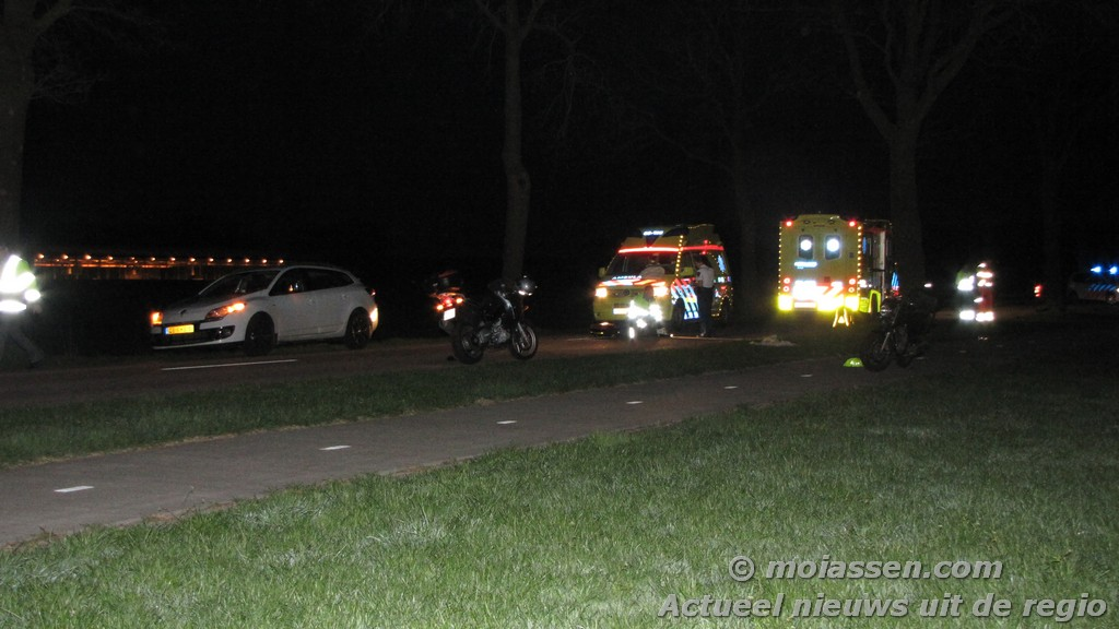 Franse motorrijder zwaargewond bij ongeval in Hooghalen