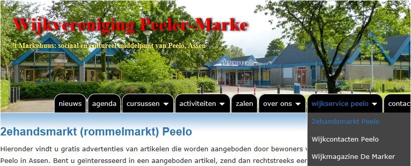 Peelo heeft nu haar eigen marktplek