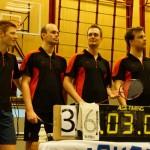 Wereldrecordpoging badmintonnen  36 uur dubbelen