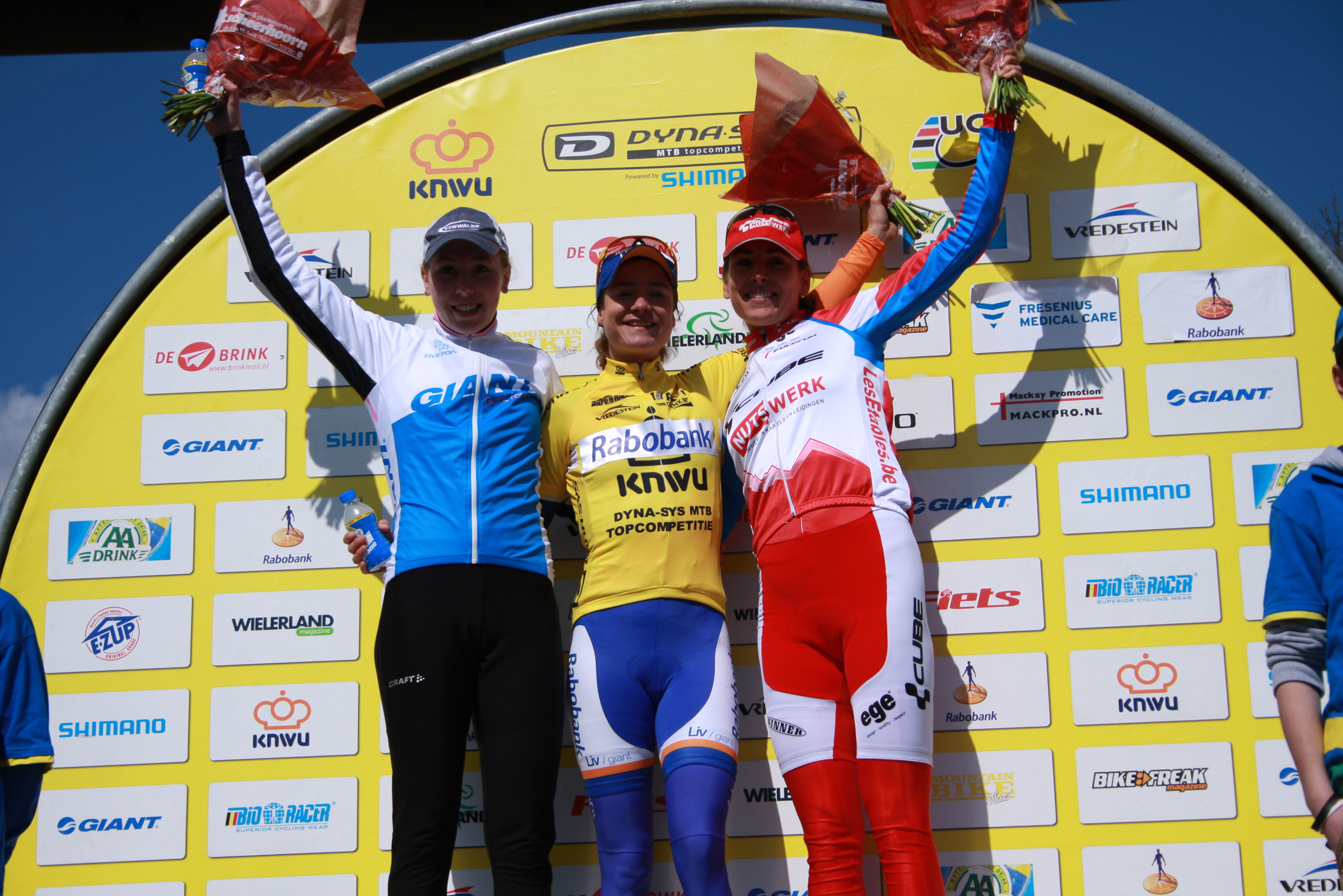 Mariane Vos wint MTB Trophy Norg