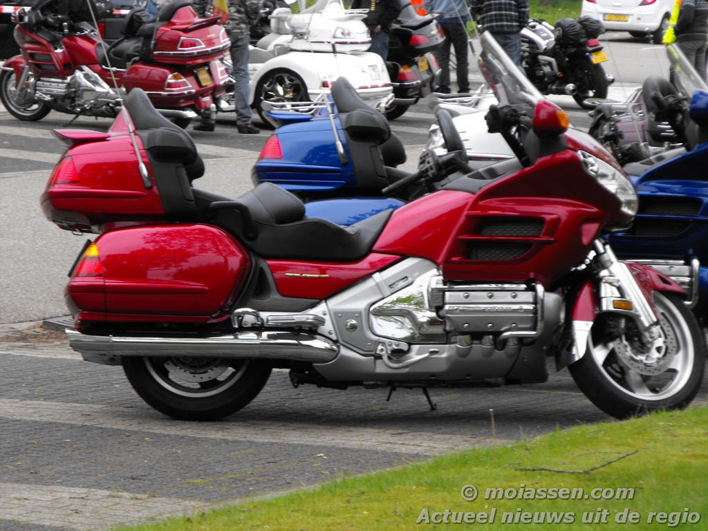 Onderweg bij de Honda GoldWing Club Holland in 2013 – MoiAssen