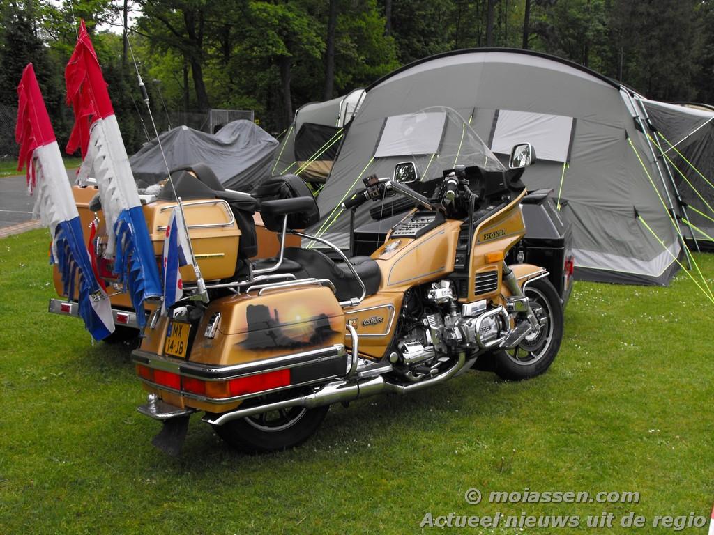 Honda Goldwingclub bestolen in Assen