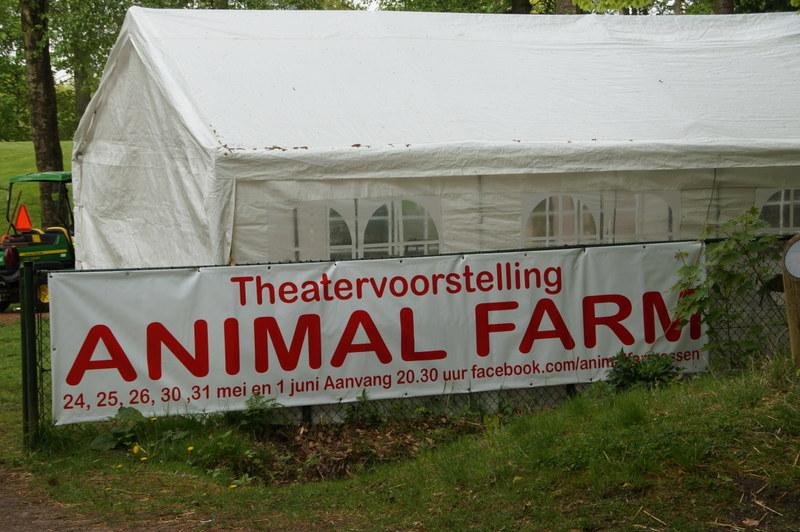 Animal Farm: bijzondere en muziek èn actueel thema