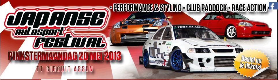 Pinkstermaandag 20 mei: Japanse Autosport Festival op TT Circuit Assen