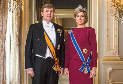 Koning en Koningin op bezoek in Assen