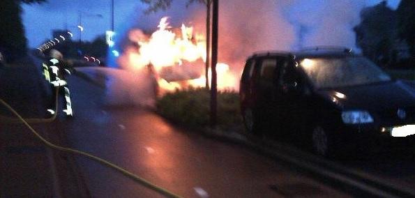Getuigen van brandstichting gezocht(update foto )