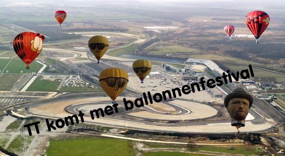 TT komt met ballonnenfestival