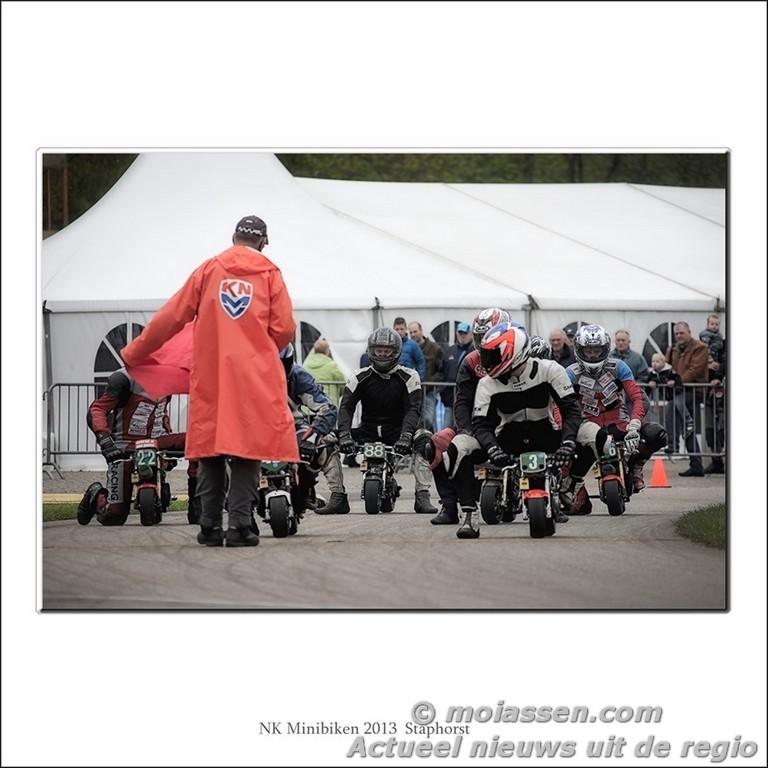 Racing Team Assen behaalde 1e plek op 3e NK Minibike staphorst