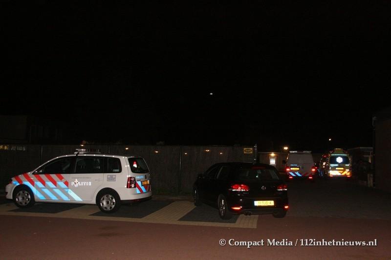 Persoon gewond bij Leger des Heils in Assen