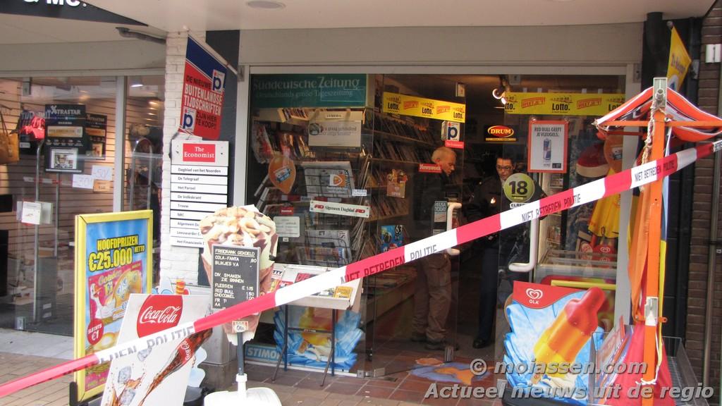 Anderhalf jaar cel geëist voor overval op sigarenboer