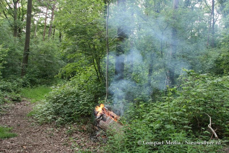 Verdachte Buitenbrand aan de Lauwers in Assen