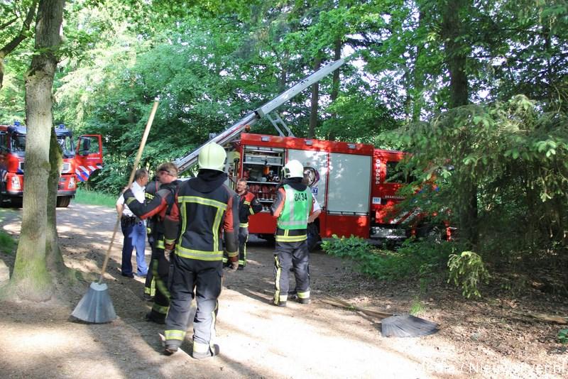 Brandweer gealarmeerd voor heidebrand in Rolde
