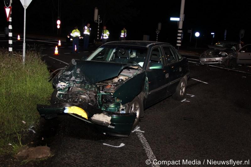 Twee ongevallen achter elkaar op de Europaweg-Zuid in Assen