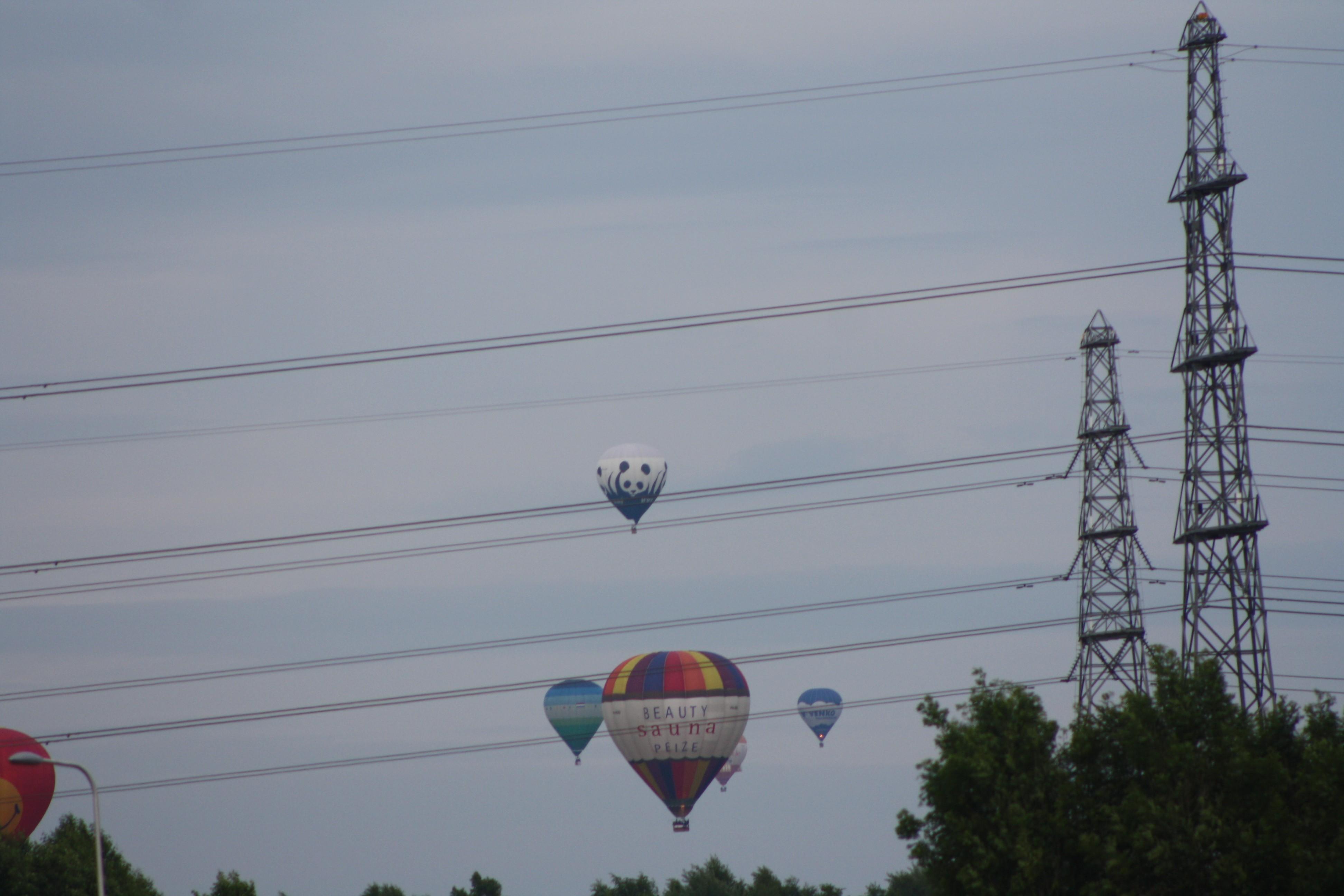 Ballonfeest in Assen tijdens TT-week