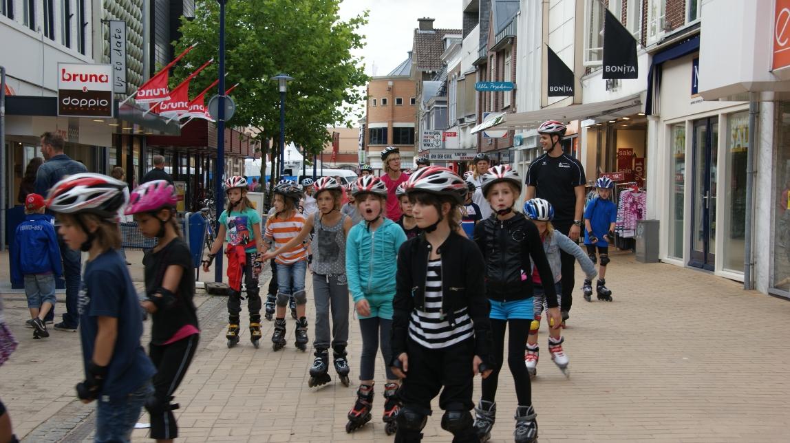Sportief genieten in Drenthe tijdens de Drentse Skate2Daagse