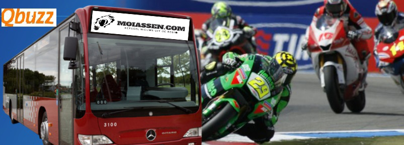 Races, TT-festival en campings goed bereikbaar met openbaar vervoer
