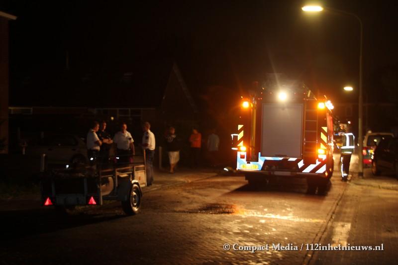 Wederom brand in de wijk Pittelo in Assen ( Video Update )