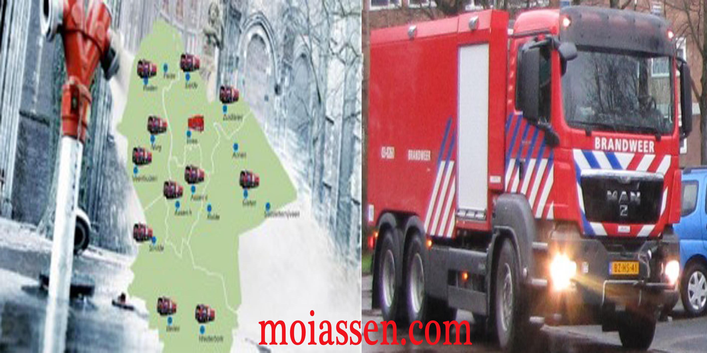 Drentse brandkranen worden vervangen door bluswagens