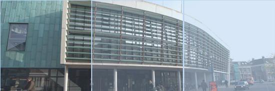 Onderhoud aan stadhuis Assen