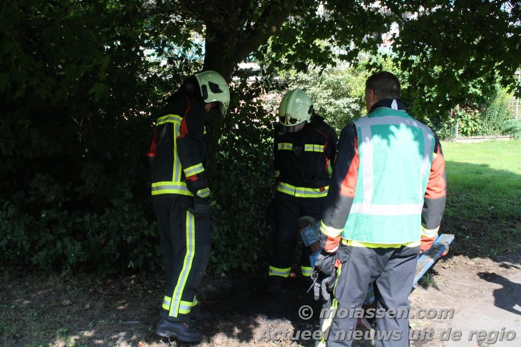 112kort : Buitenbrand Molenstraat
