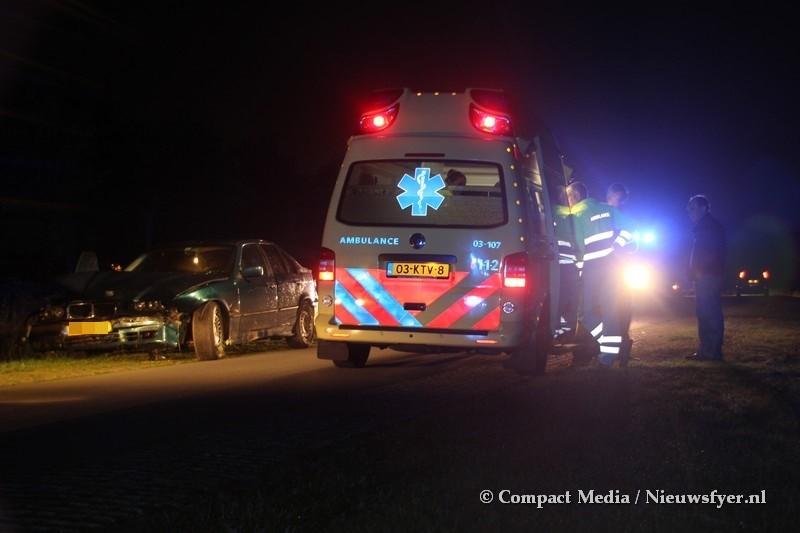 Joyrider uit Veenhuizen gewond bij ongeval Zeijerveen