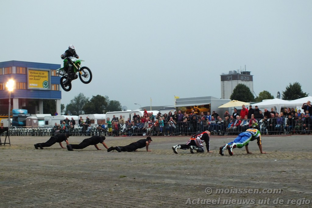 Stunt Movie Production's in Assen(video)