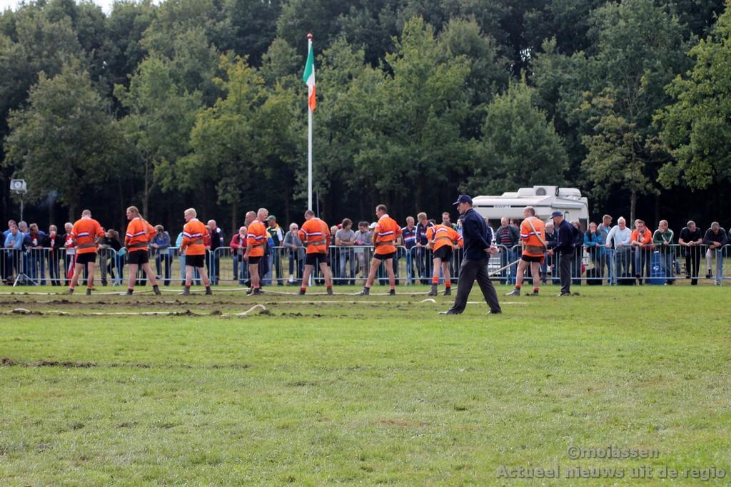 Nederlandse touwtrekkers Europees kampioen in Assen