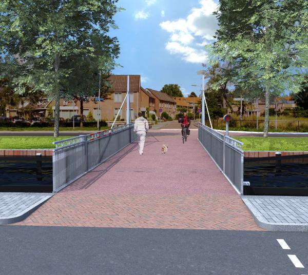 Aanbesteding fietsbruggen Venestraat en Oude Molenstraat