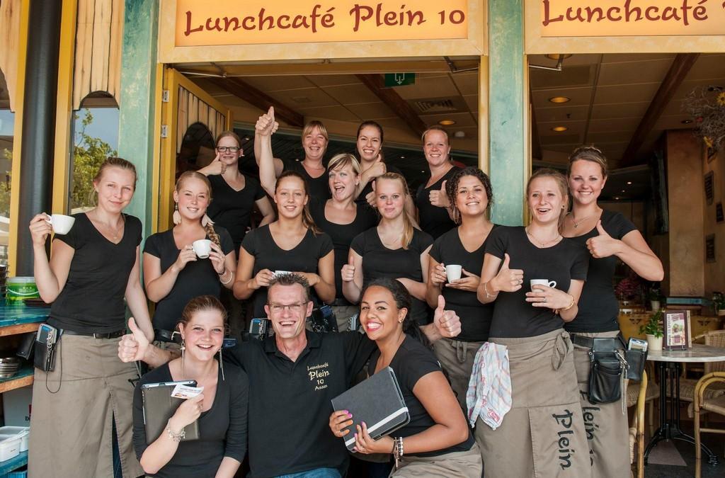 Lunchcafé Plein 10 in Assen wint de landelijke koffie top 100 publieksprijs !