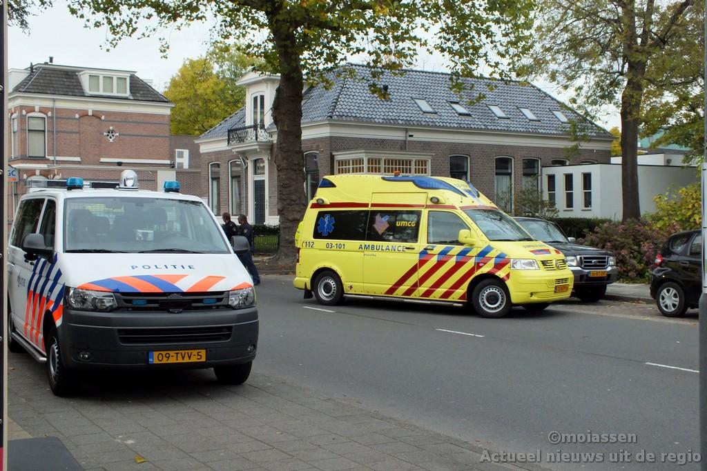 Mobiel Medisch Team verleent assistentie bij hulpverlening in Assen.