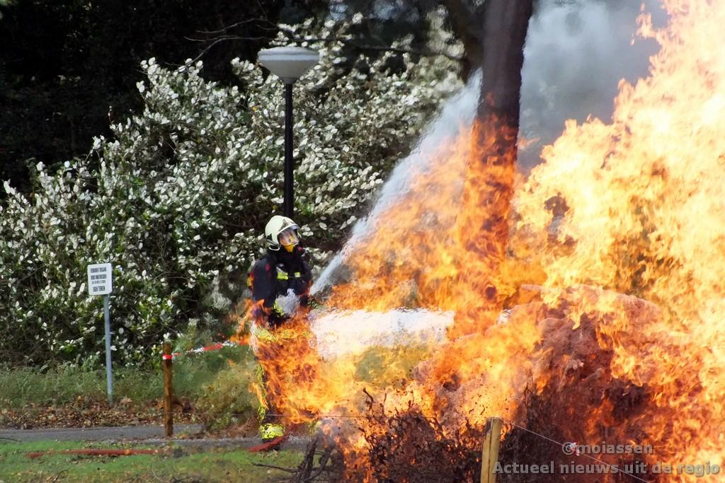 Woningen ontruimd als gevolg van brandend gaslek(video)
