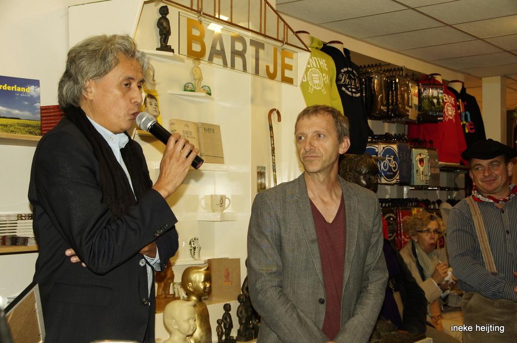Bartje heeft mini museum en Sam Drukker ambassadeur