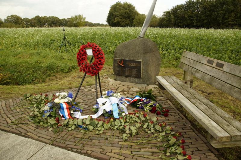 Lancaster bommenwerper bij Anreep op rampdag 20 oktober 1943  herdacht