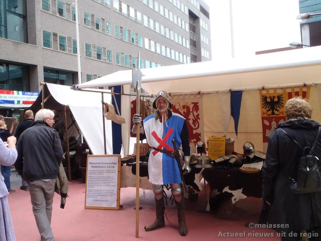 Middeleeuws Leven druk bezocht in Groningen