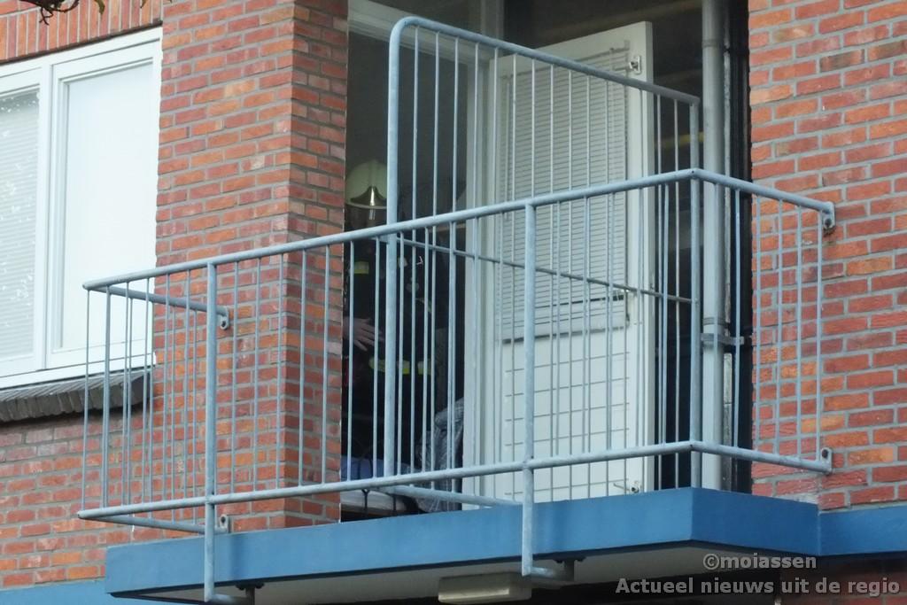 Woningbrand aan de Nansenstraat in Assen