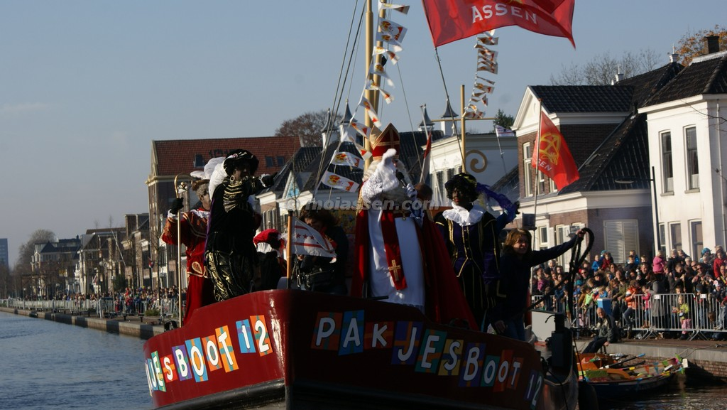 Overzicht: intochten Sinterklaas in Assen