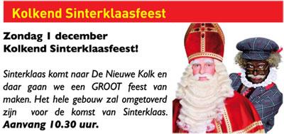 Kolkend Sinterklaasfeest