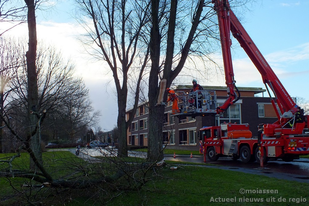 Stormschade in Assen