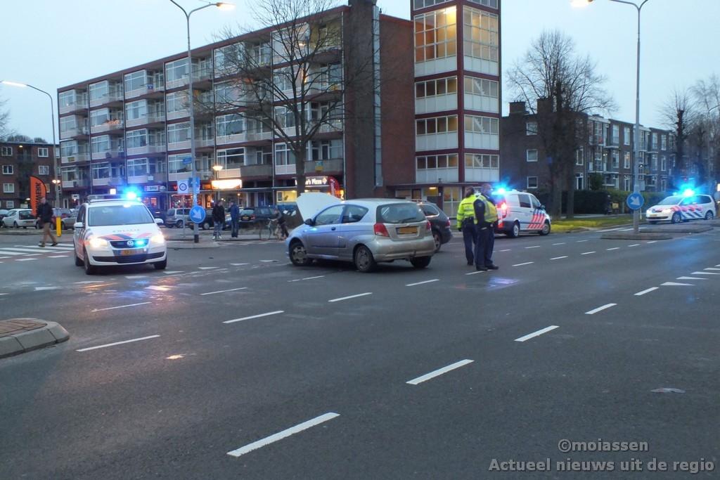 Voorrangsfout leidt tot ongeval in Assen