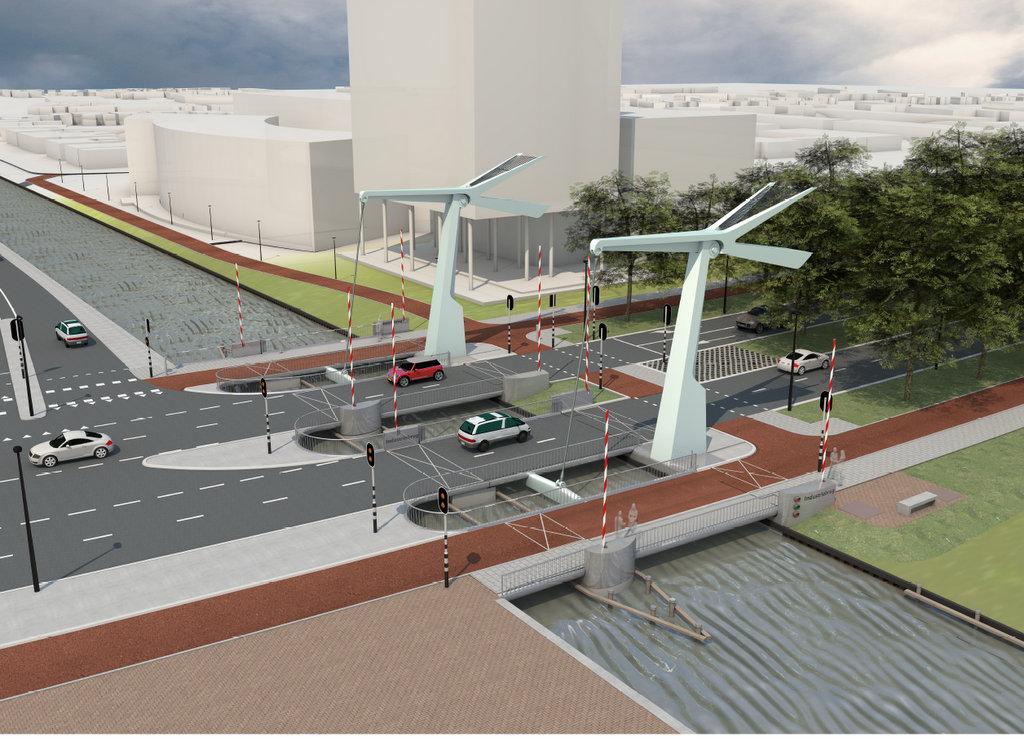 Uitslag aanbesteding autobrug Industrieweg